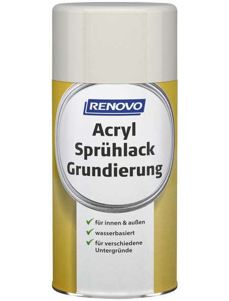RENOVO Sprühlack-Grundierung, 250 ml, weiß