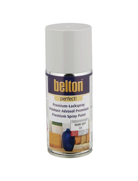 BELTON Sprühlack »Perfect«, auf Lösemittelbasis, lichtgrau
