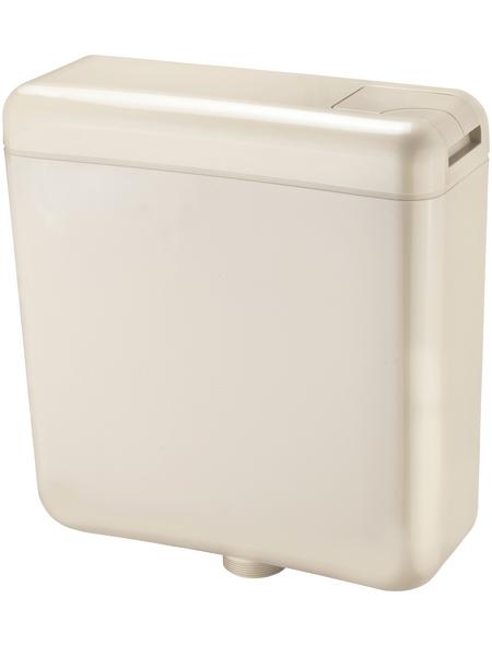 CORNAT Spülkasten, BxHxT: 384 x 400 x 136 mm, beige