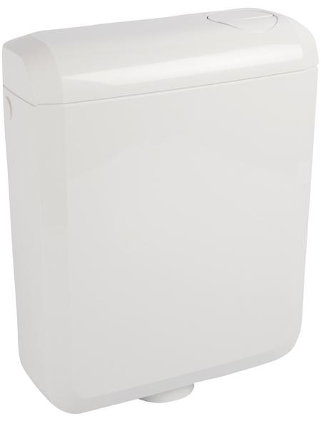 SANITOP-WINGENROTH Spülkasten »SUPER 6«, BxHxT: 345 x 415 x 137 mm, weiß