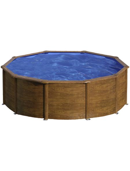 GRE Stahlwand-Pool »Aufstellpool «, rund, Ø x H: 300  x 120 cm