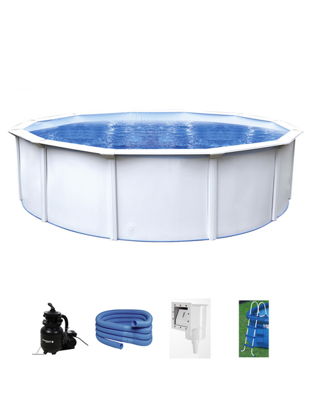 INTEX Stahlwand-Pool »Nuovo de Luxe II«, rund, Ø x H: 460 x 120 cm