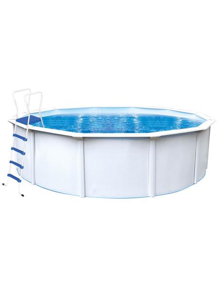 INTEX Stahlwand-Pool »Nuovo de Luxe II«, rund, Ø x H: 550 x 120 cm