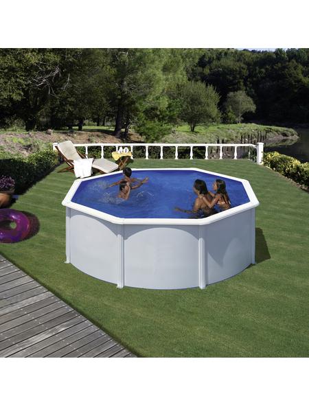 GRE Stahlwand-Pool,  rund, Ø x H: 300  x 120 cm