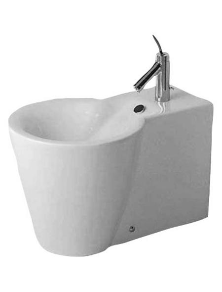 DURAVIT Stand-Bidet »Starck 1«, weiß, BxHxT: 41 x 38.5 x 64 cm