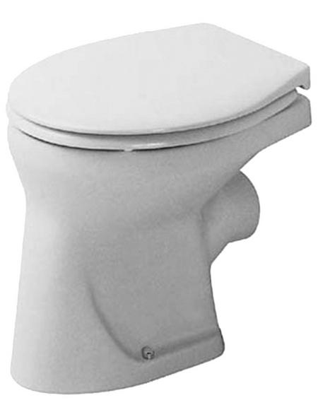 DURAVIT Stand WC »Bambi«, Flachspüler, weiß, mit Spülrand
