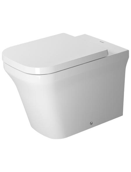 DURAVIT Stand-WC-Befestigung, Tiefspüler, weiß