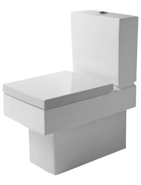 DURAVIT Stand-WC-Befestigung, Tiefspüler, weiß, mit Spülrand