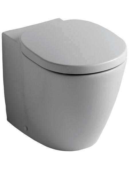 IDEAL STANDARD Stand WC »Connect«, Tiefspüler, weiß, mit Spülrand