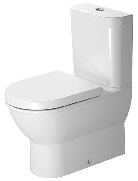 DURAVIT Stand WC »Darling New«, Tiefspüler, weiß, mit Spülrand