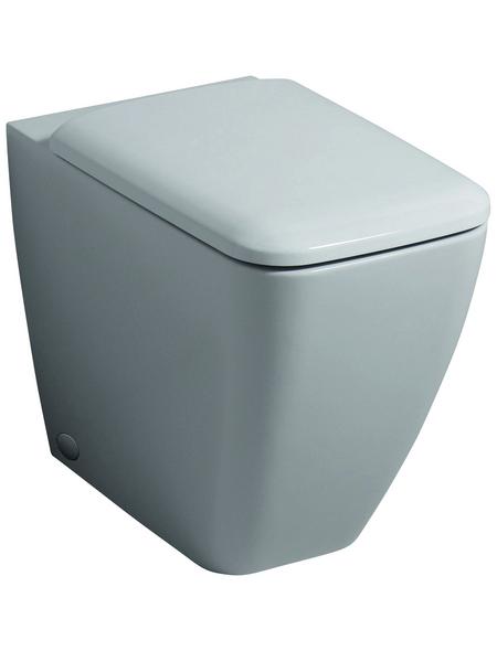 GEBERIT Stand WC »iCon«, Tiefspüler, weiß, Spülrandlos
