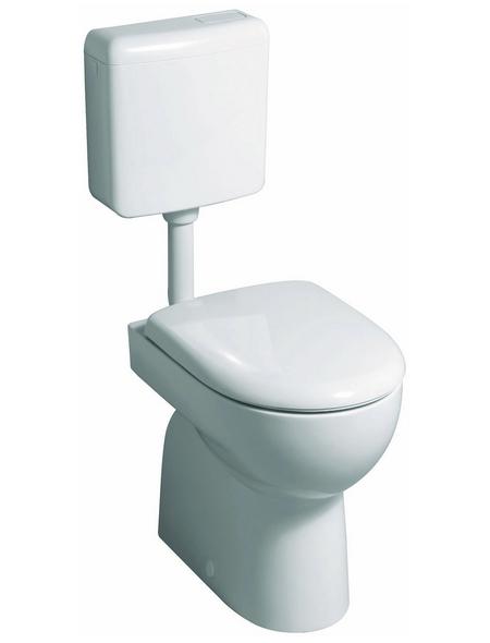 GEBERIT Stand WC »Renova«, weiß, mit Spülrand