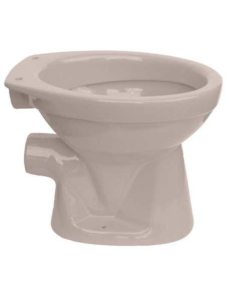 cornat stand wc ronda tiefsp ler beige mit sp lrand