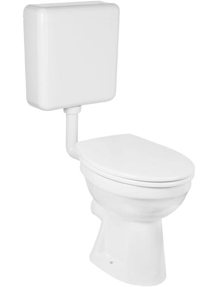 GO/ON! Stand-WC-Set, GOON, LxBxH: 49 x 41 x ca. 50 cm, Kunststoff | Porzellan | Duroplast