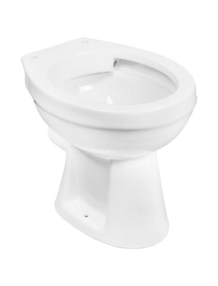 CORNAT Stand WC, Tiefspüler, weiß, spülrandlos