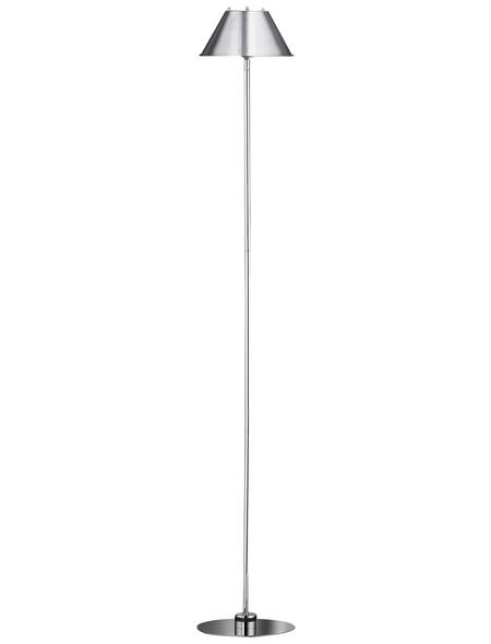 wofi® Standleuchte chrom mit 10 W, H: 135 cm, G9 ohne Leuchtmittel