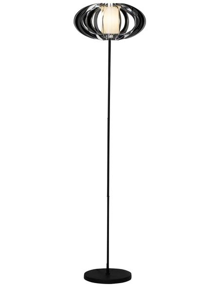 BRILLIANT Standleuchte chromfarben mit 60 W, H: 150,00 cm, E27 ohne Leuchtmittel