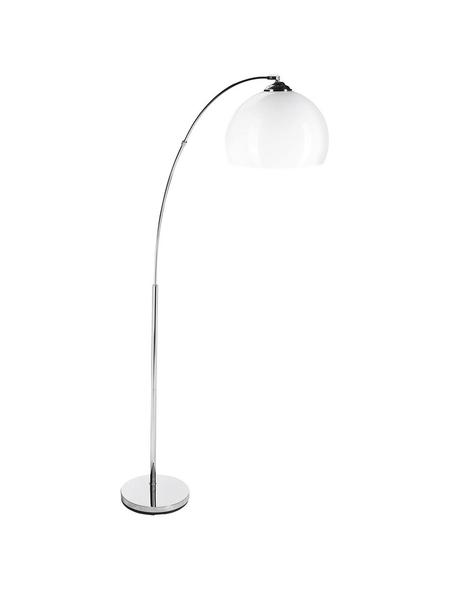BRILLIANT Standleuchte »Vessa« weiß/chromfarben mit 60 W, Schirm-Ø x H: 26,5 x 166 cm, E27 ohne Leuchtmittel