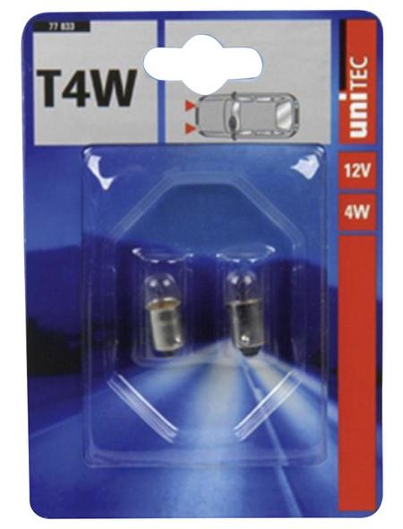 UNITEC Standlichtlampe »BA9s«, T4W, 4 W