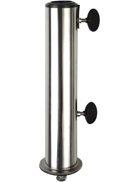 DOPPLER Standrohr für Granitsockel, Edelstahl, ØxH: 5 x 34 cm