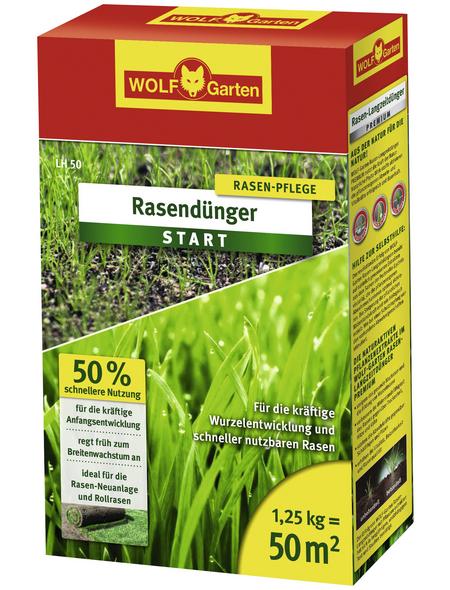 WOLF GARTEN Start-Dünger »LH 50«, 1,25 kg, für 50 m²