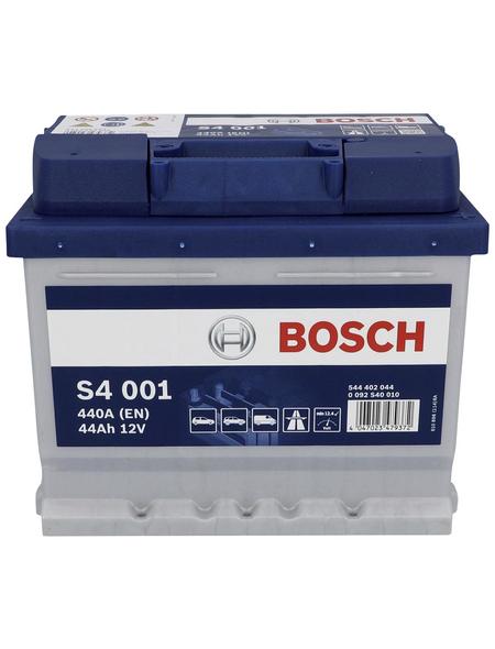 BOSCH Starterbatterie, BOSCH silver, 12V 44 Ah A440 S4 KSN S4 001