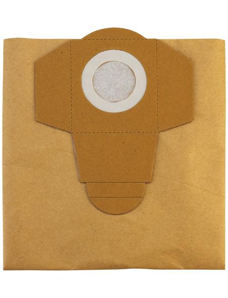 EINHELL Staubsaugerbeutel, aus Papier, 5 Stück, für Nass- und Trockensauger
