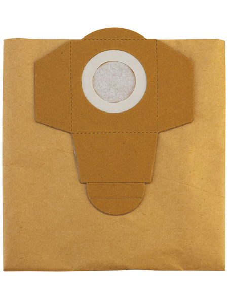 EINHELL Staubsaugerbeutel »NT-Sauger«, 20 Liter, aus Papier, 5 Stück, für Nass- und Trockensauger