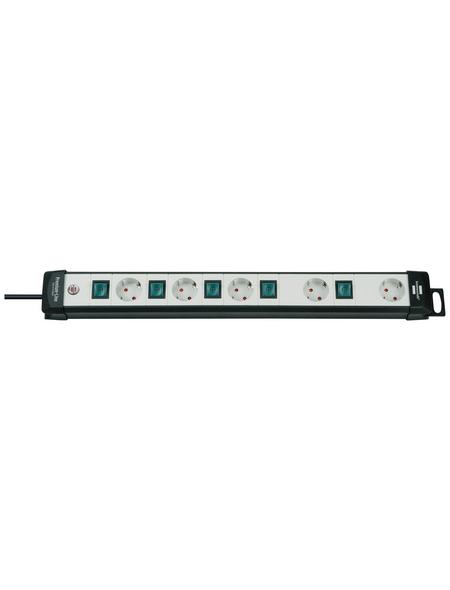 Brennenstuhl® Steckdosenleiste »Premium-Line«, 5-fach, 3 m