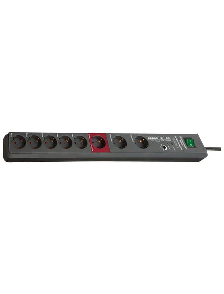 Brennenstuhl® Steckdosenleiste »Secure Tec 1159490936«, 8-fach, Kabellänge: 3 m