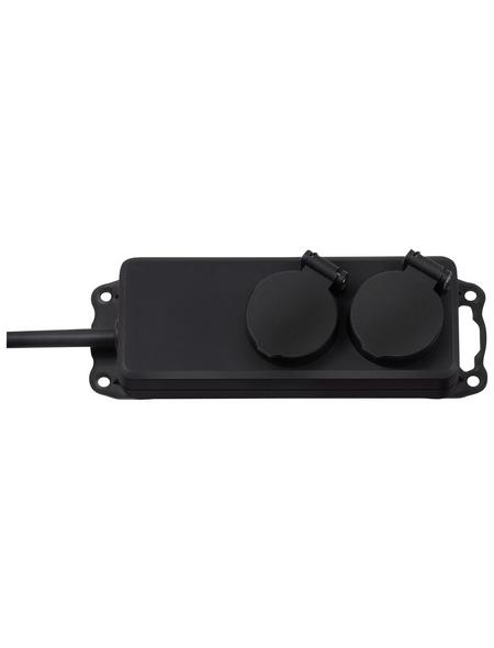 Brennenstuhl® Steckdosenverteiler »1159930«, 2-fach, Kabellänge: 2 m