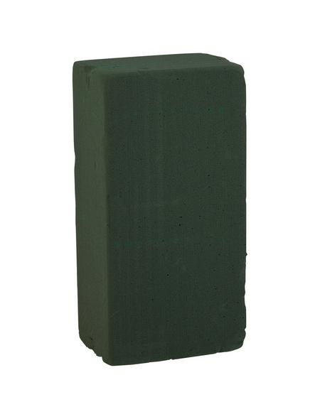 DIJK NATURAL COLLECTIONS Steckschaum Frischziegel grün 10 x 7,5 x 20 cm