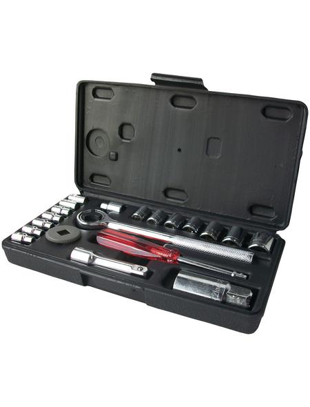 CONNEX Steckschlüsselsatz, 20-tlg. Set, 4 - 17 mm