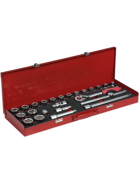 GEDORE Steckschlüsselsatz, 24-tlg. Set, 10 - 32 mm