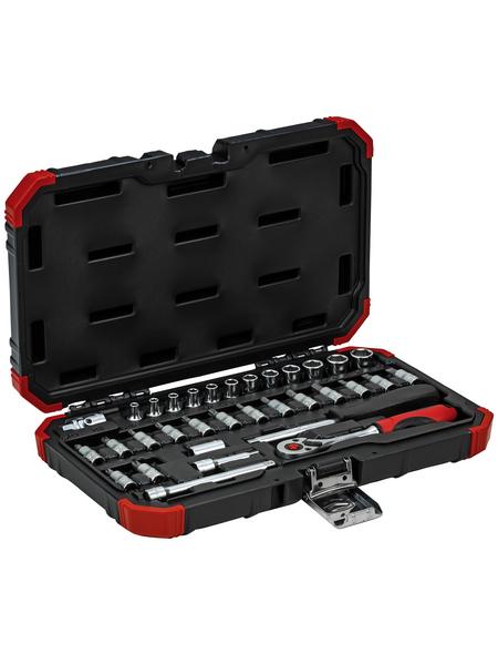 GEDORE Steckschlüsselsatz, 33-tlg. Set, 4 - 13 mm