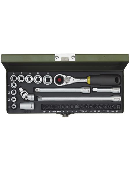 PROXXON Steckschlüsselsatz »Feinmechaniker-Steckschlüssel- und Schraubersatz«