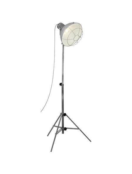 BRILLIANT Stehlampe betonfarben mit 60 W, H: 153 cm, E27 ohne Leuchtmittel