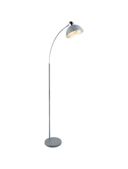 Stehleuchte »ANITA« grau mit 40 W, H: 155 cm, E27 ohne Leuchtmittel