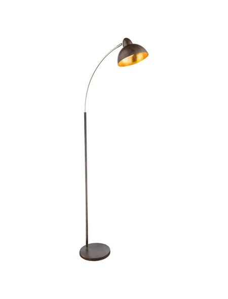 Stehleuchte »ANITA« rostfarben mit 40 W, H: 155 cm, E27 ohne Leuchtmittel