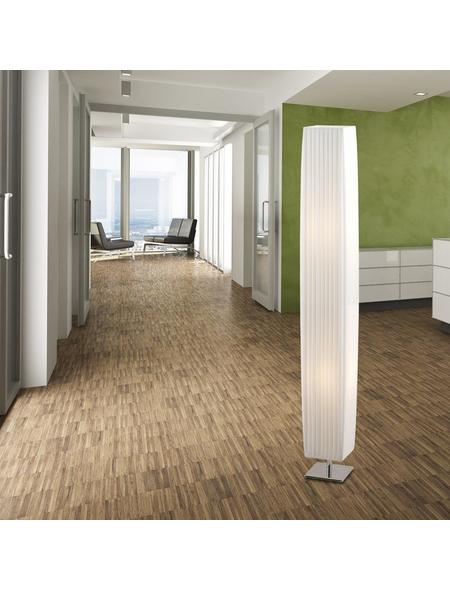 Stehleuchte »BAILEY« Weiß mit 40 W, 2-flammig, H: 119 cm, E27 ohne Leuchtmittel