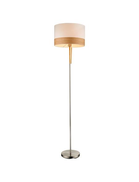 Stehleuchte »CHIPSY« nickelfarben mit 60 W, H: 170 cm, E27 ohne Leuchtmittel