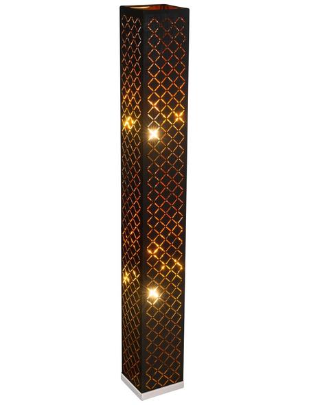 GLOBO LIGHTING Stehleuchte »CLARKE«, nickelfarben, Höhe: 118  cm