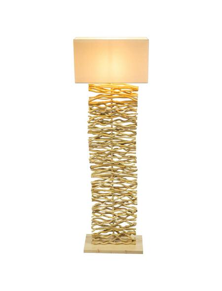 Stehleuchte »JAMIE« natur mit 60 W, H: 147 cm, E27 ohne Leuchtmittel