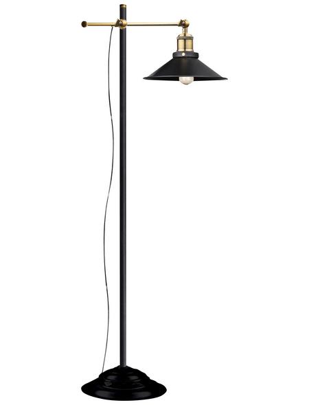 GLOBO LIGHTING Stehleuchte »LENIUS« schwarz mit 60 W, H: 155 cm, E27 ohne Leuchtmittel