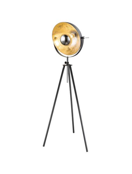 GLOBO LIGHTING Stehleuchte »LENN« grau mit 60 W, H: 179 cm, E27 ohne Leuchtmittel