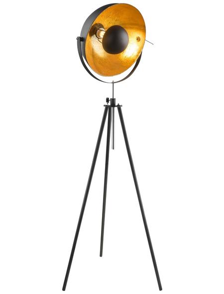 GLOBO LIGHTING Stehleuchte »LENN« schwarz mit 60 W, H: 179 cm, E27 ohne Leuchtmittel
