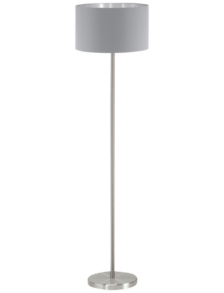 EGLO Stehleuchte »MASERLO«, grau/silberfarben, Höhe: 151  cm