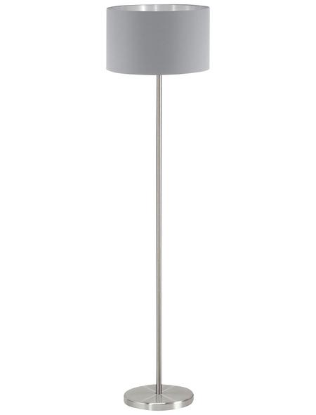 EGLO Stehleuchte »MASERLO« grau/silberfarben mit 60 W, H: 151 cm, E27 ohne Leuchtmittel