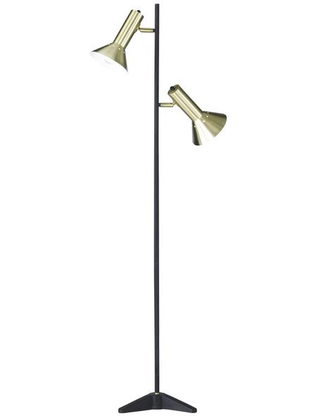 wofi® Stehleuchte »Mayra«, 2-flg., H: 140 cm, E27 , ohne Leuchtmittel in