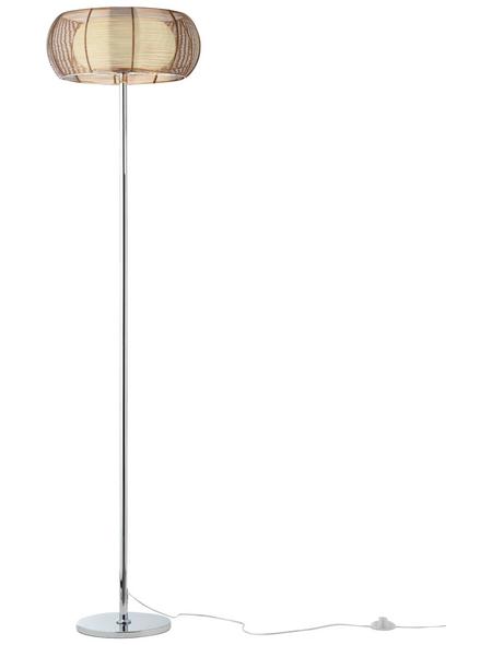 BRILLIANT Stehleuchte mit 30 W, 2-flammig, H: 162,00 cm, E27 ohne Leuchtmittel